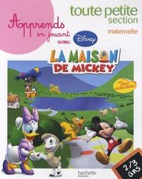 Disney - Apprends en jouant avec la maison de Mickey toute petite section maternelle - 2-3 ans.