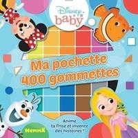 Disney baby - Ma pochette 400 gommettes Fond bleu - Anime ta frise et invente des histoires !.
