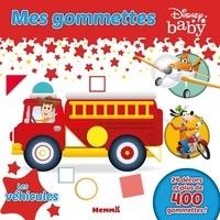 Disney baby - Mes gommettes Disney Baby Les véhicules - 24 décors et plus de 400 gommettes !.
