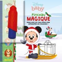 Disney baby - Pinceau magique (Mickey Noël) - Avec un pinceau.