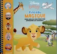 Disney baby - Pinceau magique (Simba) - Avec un pinceau.