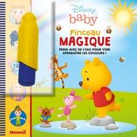 Disney baby - Pinceau magique (Winnie l'ourson) - Avec 1 pinceau.