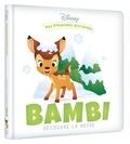 Disney - Bambi découvre la neige.