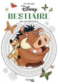 Disney et Aurélia-Stéphanie Bertrand - Bestiaire Disney - 60 coloriages.