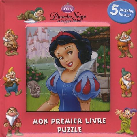 Disney - Blanche-Neige, mon premier livre-puzzle.