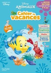 Disney - Cahier de vacances de la Petite section à la Moyenne section - Disney animaux.