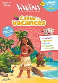 Téléchargement gratuit kindle books rapidshare Cahier de vacances Vaiana de la Grande Section au CP  - 5/6 ans par Disney in French