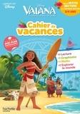 Disney - Cahier de vacances Vaiana de la Petite Section à la Moyenne Section - 3/4 ans.