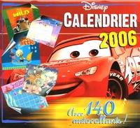 Disney - Calendrier Disney - Avec 140 autocollants !.