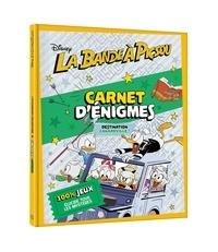 Disney - Carnet d'énigmes La bande à Picsou - Destination Canardville !.
