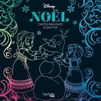 Disney - Cartes à gratter Disney Noël - Avec 1 stylet.