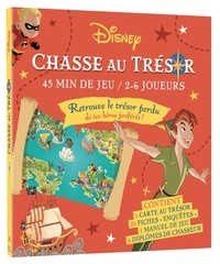Disney - Chasse au trésor Disney Classiques - Avec 1 carte, 20 fiches, 1 manuel et 6 diplômes.