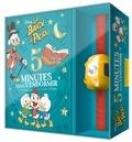 Disney - Coffret 5 minutes pour s'endormir La bande à Picsou - 4 histoires avec la Bande à Picsou. Avec une lampe frontale.