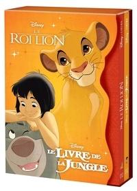 Disney - Coffret Disney Cinéma - Coffret en 2 volumes :  Le Roi Lion ; Le Livre de la Jungle.