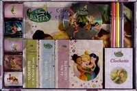 Disney - Coffret disney Les Fées - 1 livre de jeux, 3 livres d'histoire, 1 livre de coloriage, 1 livret de cartes, 1 cd avec plein d'histoires, des stickers.