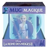 Disney - Coffret mug magique La Reine des Neiges II - L'histoire du film avec 1 mug magique.