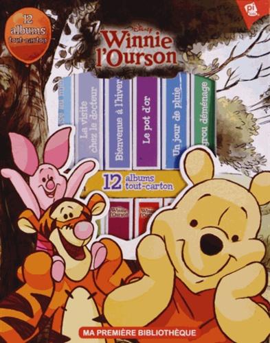 Disney - Coffret Winnie l'ourson - 12 albums tout-carton.