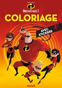 Coloriage Les Indestructibles 2 Avec Stickers Disney Decitre