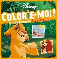 Disney - Colorie-moi ! (Animaux) - 24 portraits à colorier.