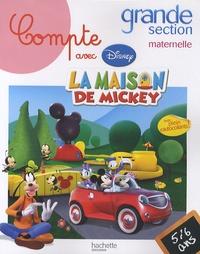Disney - Compte avec la maison de Mickey grande section maternelle - 5-6 ans.