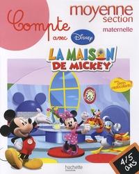 Disney - Compte avec la maison de Mickey moyenne section maternelle - 4-5 ans.