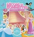 Disney - Décors et gommettes Disney princesses - 40 gommettes + 4 décors.