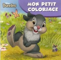 Disney - Des lapins adorables - Mon petit coloriage.