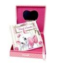 Disney - Disney Animaux Marie, Mon coffret secret - Une jolie boîte avec miroir et un carnet d'amitié avec cadenas + 2 clefs.