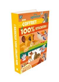 Disney - Disney animaux - Avec 1 bloc de jeux et de coloriages et 1000 stickers.
