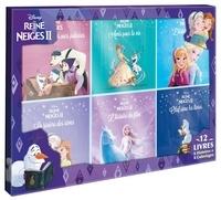 Disney - Disney La Reine des Neiges II - Coffret en 12 volumes : La Reine des Neiges, l'histoire du film ; Olaf aime les livres ; Amis pour la vie ; Olaf et les trois ours polaires ; La rivière des rêves ; L'histoire du film + 6 coloriages.