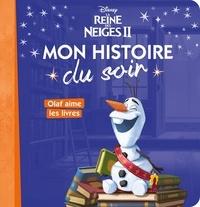 Disney - Disney La Reine des Neiges II - Olaf aime les livres.