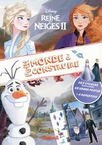 Disney - Disney La Reine des Neiges II - Des stickers pour décorer un grand poster + 4 papertoys.
