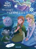 Disney - Disney La Reine des Neiges : La magie des aurores boréales - Mon livret de gommettes.