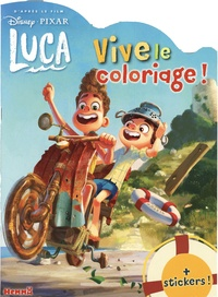 Disney - Disney Pixar Luca - Plus stickers !.