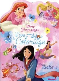 Disney - Disney Princesses Mulan, Ariel et Raiponce - Avec stickers.