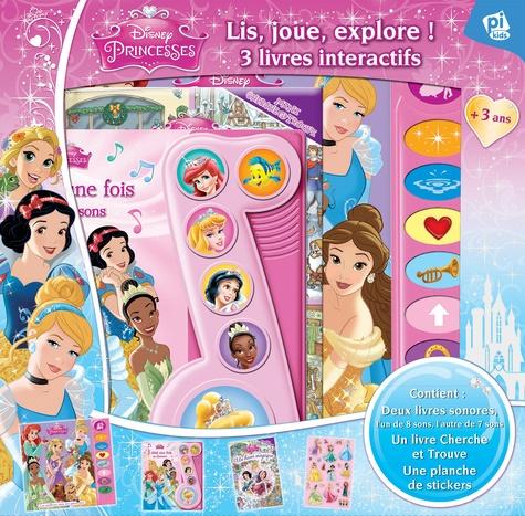 Disney Princesses Coffret Avec 3 Livres Et Une Planche De Stickers Les Meilleurs Amis Des Princesses Il Etait Une Fois En Chansons Un Hiver