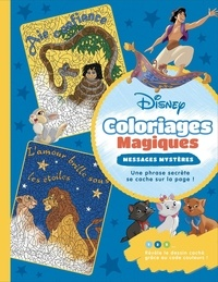Disney - Disney - Coloriages magiques - Messages mystères.