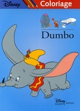 Disney - Dumbo - Coloriage.