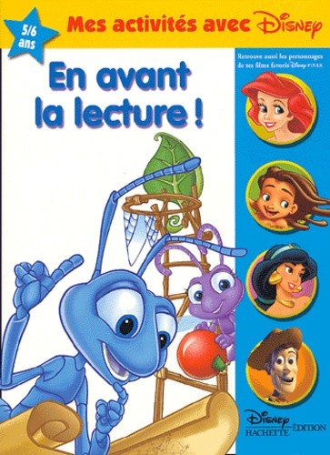 Disney - En avant la lecture ! 5 / 6 ans.