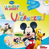 Disney - En vacances ! - 1 livre de jeux et 10 histoires audio. 1 CD audio