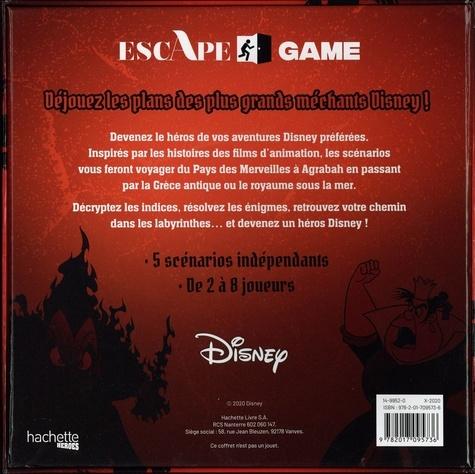 Escape Game Disney. 5 scénarios pour déjouer les plans des plus grands méchants Disney