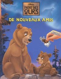 Disney - Frère des ours - Autocollants repositionnables.