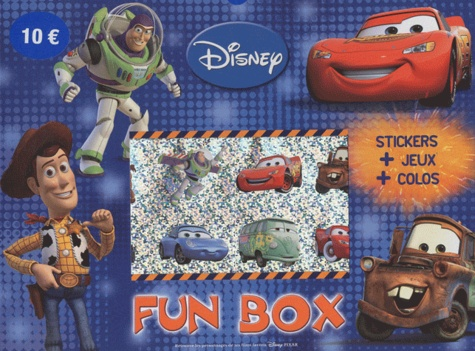 Disney - Fun box Cars et Toy Story - Stickers + jeux + colos.