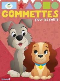 Disney - Gommettes pour les petits La Belle et le Clochard - Disney Baby.