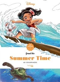 Disney - Grands Blocs Summer Time - 60 coloriages.
