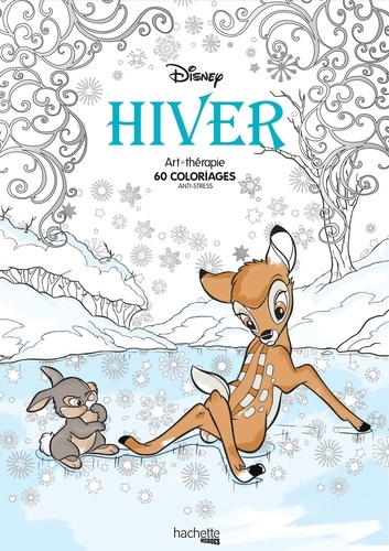 Coloriage Disney Grand Format.Hiver 60 Coloriages Anti Stress Grand Format
