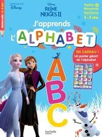Disney - J'apprends l'alphabet Petite et moyenne sections - La Reine des Neiges II.