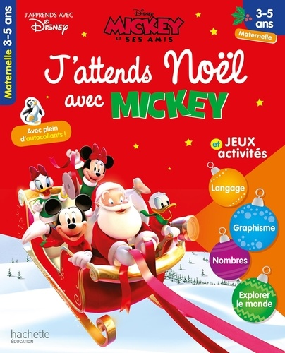J Attends Noel Avec Mickey Jeux Et Activites Maternelle