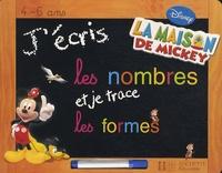 Disney - J'écris les nombres et je trace les formes - 4-6 ans.
