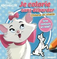 Disney - Je colorie sans déborder Disney Animaux Chiens et chats.